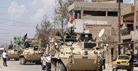 Suriyada ABŞ-a aid hərbi texnika, arxiv şəkli
