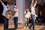 Полуфинальные поединки Азербайджанской Юниор-лиги КВН в Театре песни имени Рашида Бейбутова