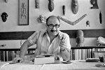 Драматург Магсуд Ибрагимбеков в 1986 году