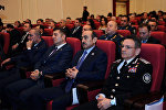 Помощник по общественно-политическим вопросам Президента Азербайджана Али Гасанов и глава СГБ генерал-лейтенант Мадат Гулиев