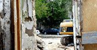 Süleyman Rüstəm 193 ünvanında yerləşən evin qalıqları