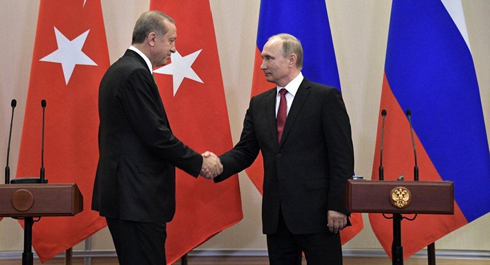 Vladimir Putin və Rəcəb Tayyip Ərdoğanın görüşü, 3 may 2017-ci il