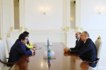 Президент Азербайджана Ильхам Алиев принял верховного представителя Альянса цивилизаций ООН Нассира Абдулазиза аль-Нассера