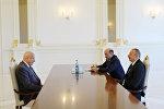 Президент Азербайджана Ильхам Алиев принял генерального директора ИСЕСКО Абдулазиза бин Османа аль-Тувейджри