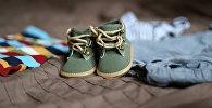 Uşaq ayaqqabıları, arxiv şəkli