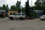 Машина Международного комитета Красного Креста в Агдаме