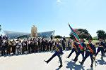 Торжественная церемония по случаю 71-й годовщины Победы над фашизмом во Второй мировой войне, Баку, 9 мая 2016 года