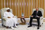 İlham Əliyev Mali Prezidenti İbrahim Boubakar Keita ilə görüşüb