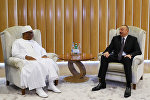 Президент Ильхам Алиев встретился с малийским коллегой Ибрагимом Бубакаром Кейта