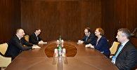 Ильхам Алиев на встрече с заместителем генерального секретаря СЕ