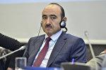 Помощник по общественно-политическим вопросам Президента Азербайджана Али Гасанов, фото из архива