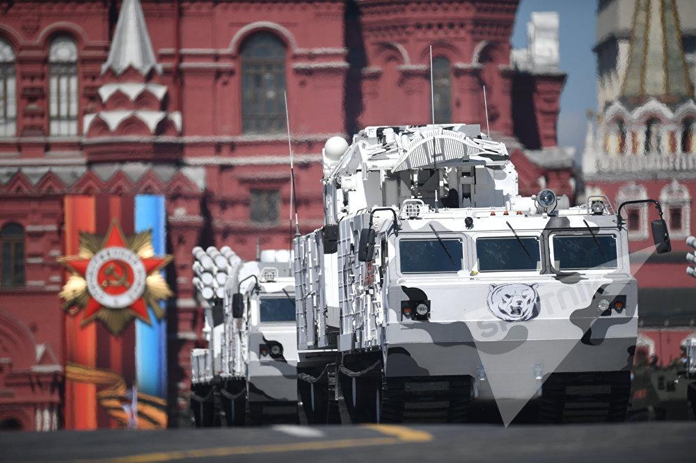 Новая военная техника на параде 2018