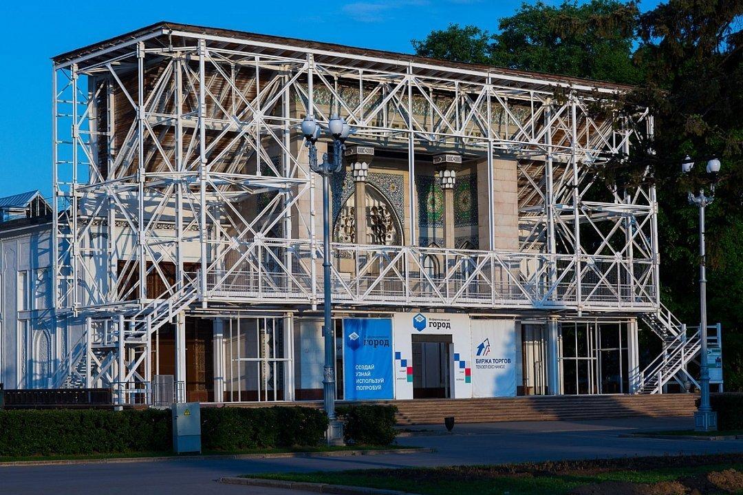 Мосгорнаследие согласовало проект реконструкции фасада павильона «Азербайджан»