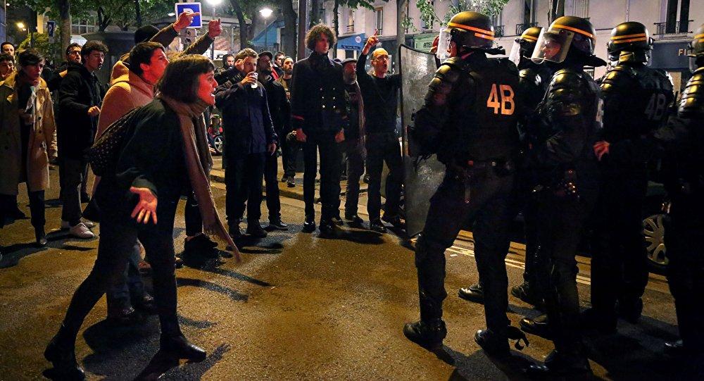 Встолице франции задержаны свыше 140 протестующих