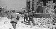 Бой на окраине Одессы на территории одного из заводов, 7 апреля 1944 года