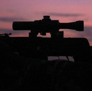 Снайперская винтовка, фото из архива