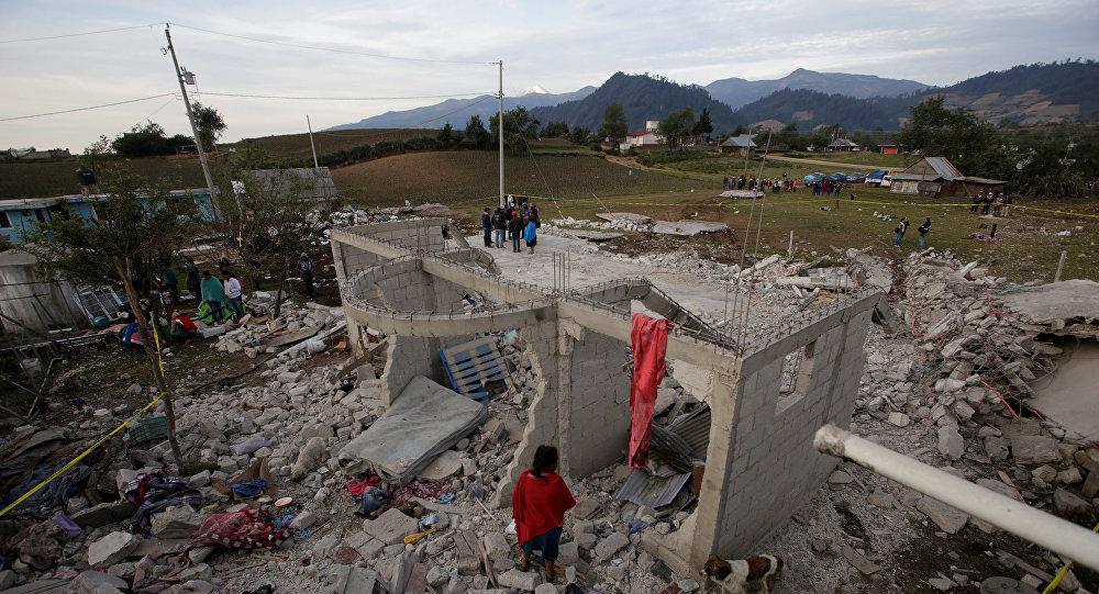 При взрыве пиротехники вМексике погибли 14 человек