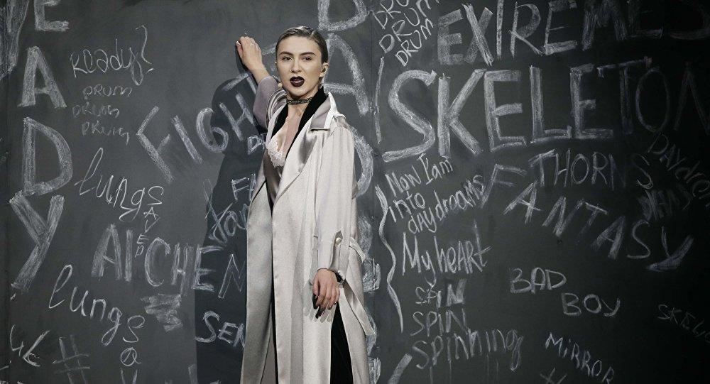 Выступление Дианы Гаджиевой в полуфинале песенного конкурса Евровидение — 2017, 9 мая 2017 года
