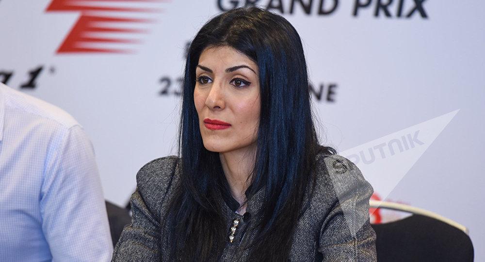Руководитель отдела маркетинга и коммуникаций операционной компании Baku City Circuit Нигяр Арпадараи