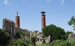 Erməni işğalı altında olan Şuşa şəhəri