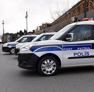 Машины патрульной службы в Баку, фото из архива