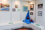 Картины на выставке Игры мира