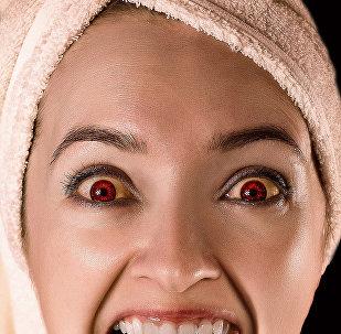 Qırmızı gözlər, arxiv şəkli