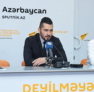 Пресс-конференция члена комитета по въездному туризму Ассоциации туризма Азербайджана Вюсала Гаджиева в международном мультимедийном пресс-центре Sputnik Азербайджан