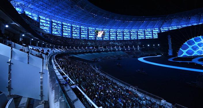 IV İslam Həmrəyliyi Oyunlarının rəsmi açılış mərasimi