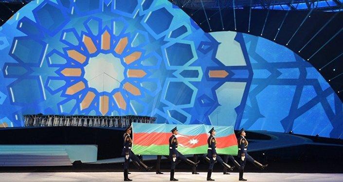 Церемония открытия IV Игр исламской солидарности в Баку