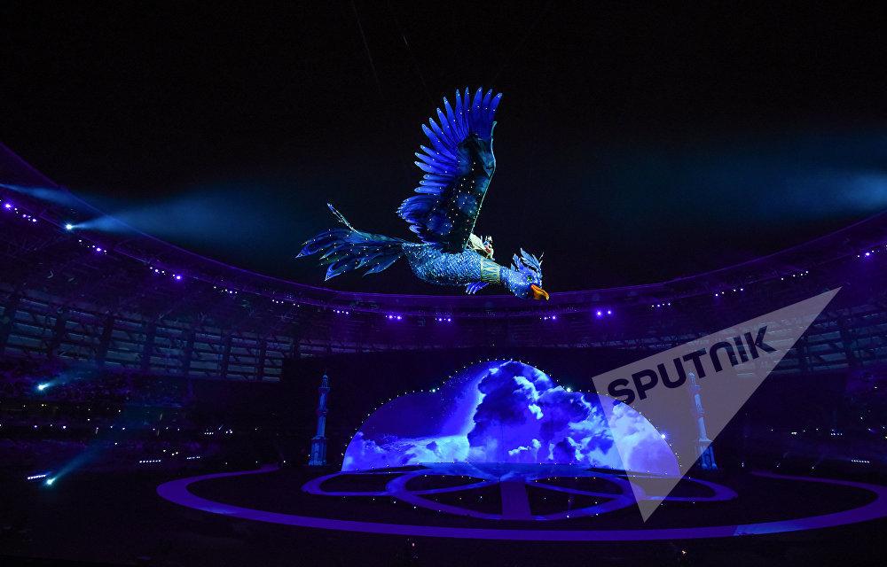 Официальная церемония открытия IV Игр исламской солидарности в Баку