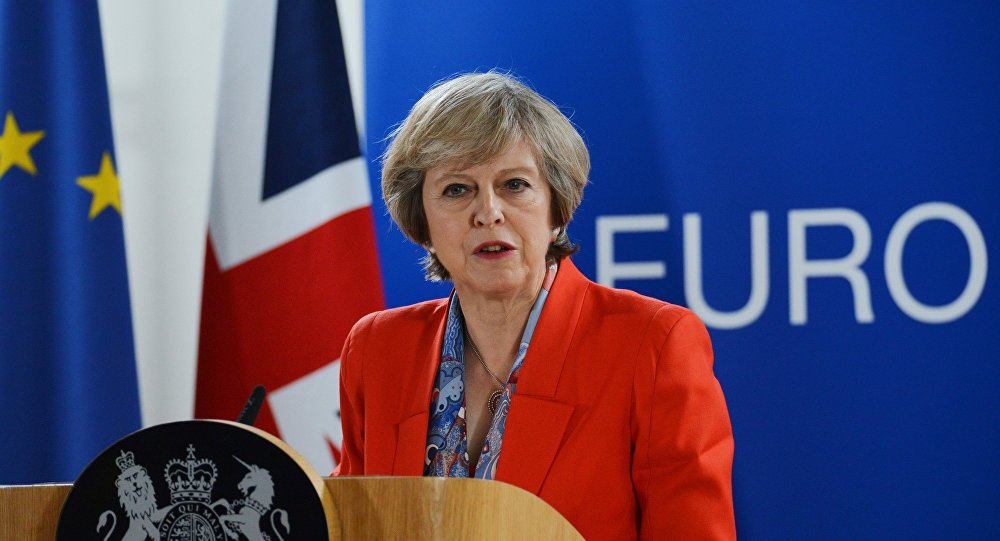 Премьер-министр Великобритании Тереза Мэй, фото из архива