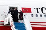 Президент Турции Реджеп Тайип Эрдоган вылетел из Пекина в Вашингтон