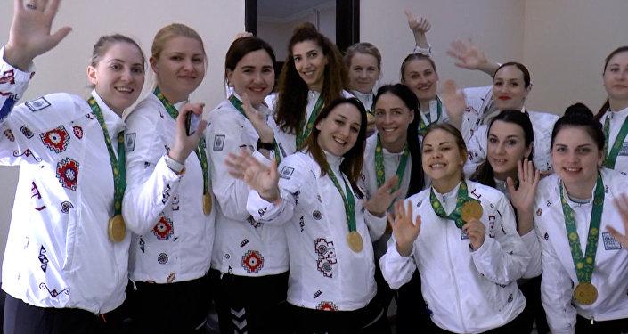 Азербайджанские медалисты Исламиады: главное – болельщики