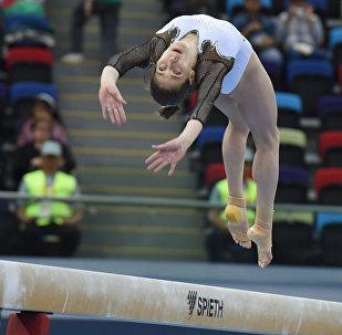 Финалы соревнований по спортивной гимнастике среди мужчин и женщин в упражнениях на коне и перекладине, в опорном прыжке, в вольных упражениях и на бревне