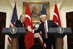 ABŞ və Türkiyə prezidentlərinin Vaşinqtonda görüşü