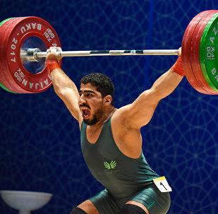 Соревнований по тяжелой атлетике среди мужчин в весовых категориях до 77, до 85 и до 94 кг IV Игр Исламской солидарности