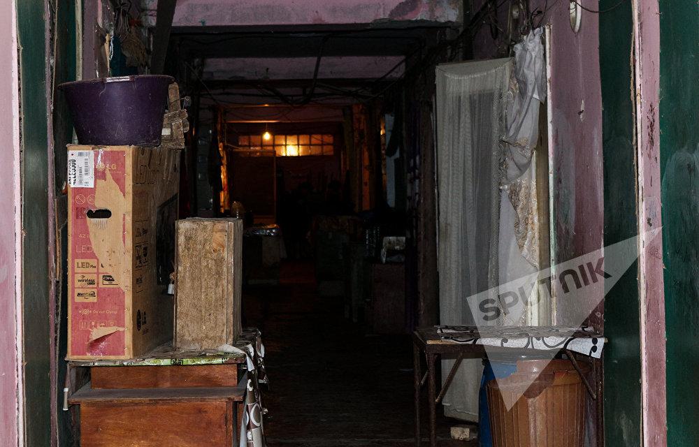 Keçmiş Energetika pansionatının yataqxanalarındakı vəziyyət