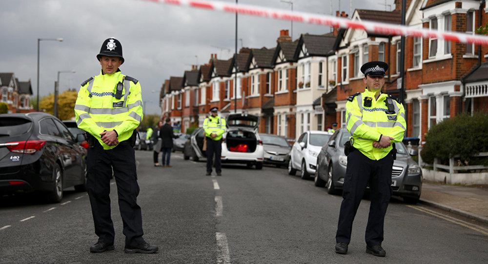 Полицейские в Лондоне, фото из архива
