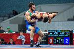 Финалы греко-римской борьбы в весовых категориях 59, 71, 80, 98 килограмм IV Игр Исламской солидарности