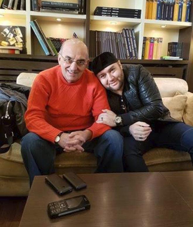 Джеджей Валико (слева) и Шейх Хамзат
