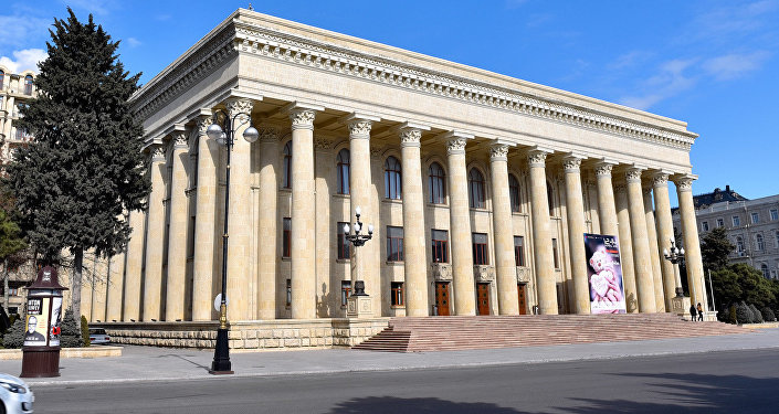Музейный центр в Баку, фото из архива