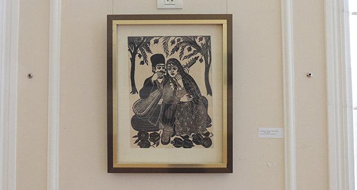 Картина Алекпера Рзакулиева Влюбленный Алескер
