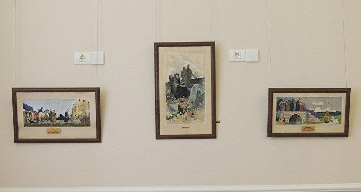 Картины Тогрула Нариманбекова Мугам, Весна и Радость