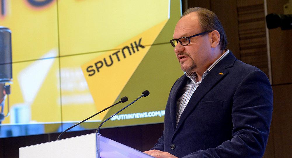 Ведущий радио Sputnik Беларусь Вячеслав Шарапов