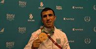Азербайджанский боксер обратился к болельщикам