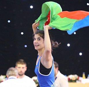 Спортсменка Лейла Гурбанова