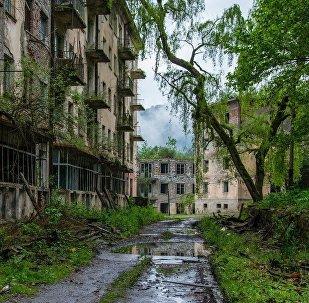 Kimsəsiz şəhər, arxiv şəkli