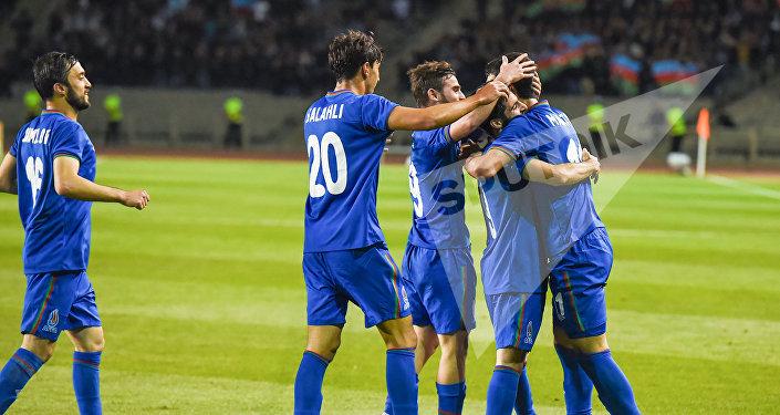 Футбольный матч Азербайджан - Оман