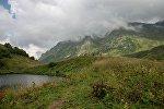 Qafqaz dağları, arxiv şəkli